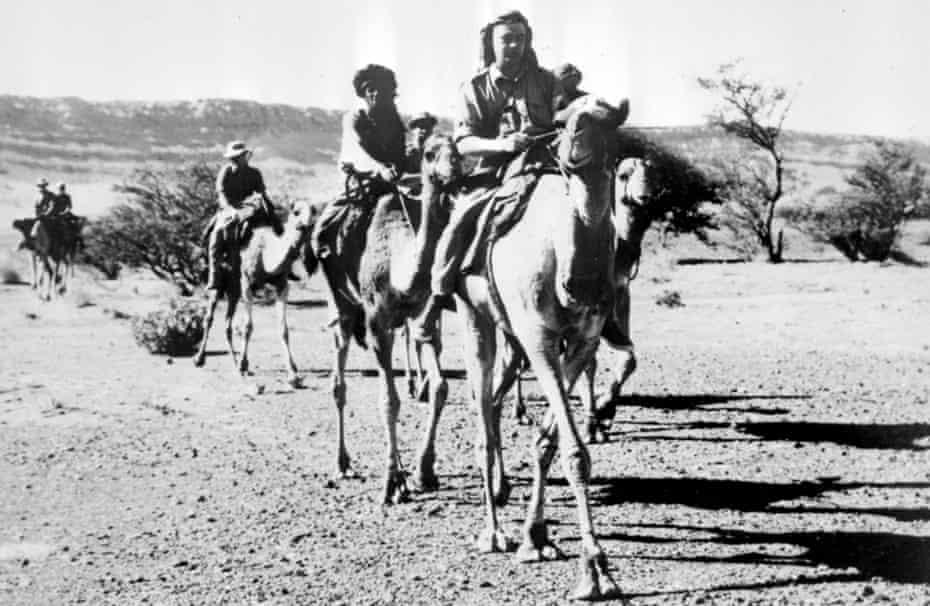 The SAS on patrol in Oman in 1961.