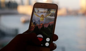 pokemon go on an iphone