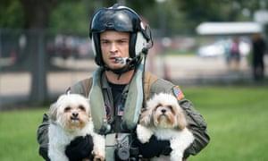 US navy dogs Texas  Harvey