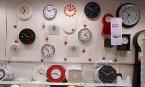 Telling the time at Ikea … but not when it comes to a fixed time slot.