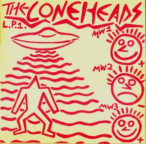 Coneheads LP cover.
