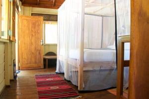 Bedroom at Mamboz beach cabanas