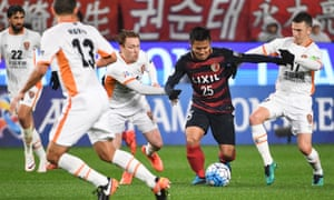 Kashima Antlers' midfielder Yasushi Endo