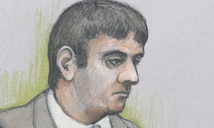 Court artist sketch of Mazher Mahmood