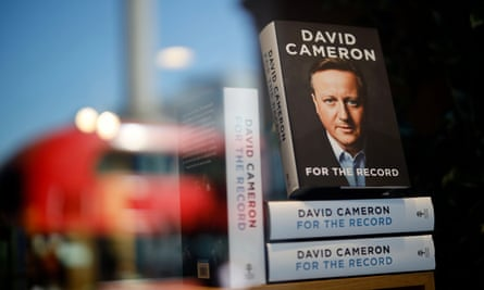 David Cameron's For the Record: 'an essential and readable guide ... but a frustrating one'.