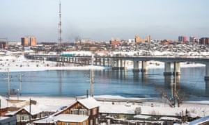 Irkutsk and the Angara river