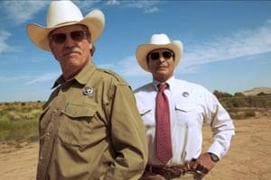Top of the cops? … Jeff Bridges with Gil Birmingham in Hell or High Water.