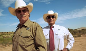 'Deliciously crusty': Jeff Bridges, left, and Gil Birmingham in Hell Or High Water