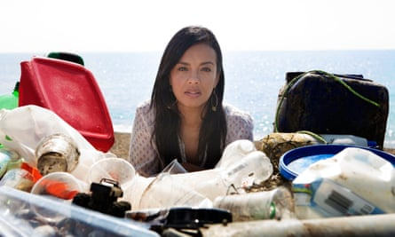 All at sea: Liz Bonnin examines the consequences of the current 51tn pieces of plastic in the ocean.