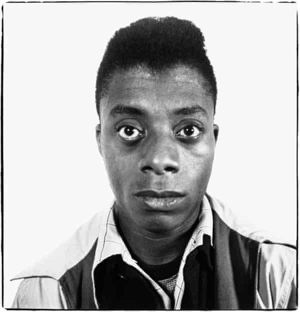 Richard Avedon - James Baldwin, writer, Harlem, New York, 1945