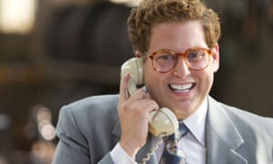 Prince of profanity … Jonah Hill in The Wolf of Wall Street.