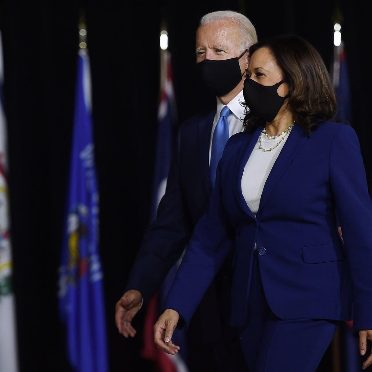 Joe Biden and Kamala Harris call for nationwide mask mandate – as it  happened   US news   The Guardian