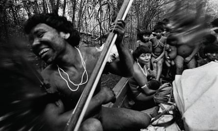 The Yanomami tribe photographed by Claudia Andujar in 1974.