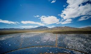 A solar plant