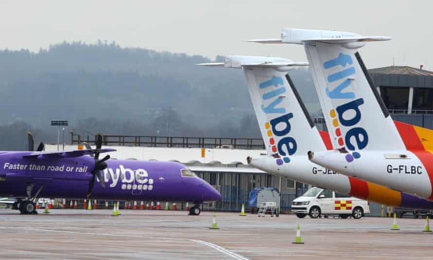 Stranded Flybe passengers should contact their bank card provider.