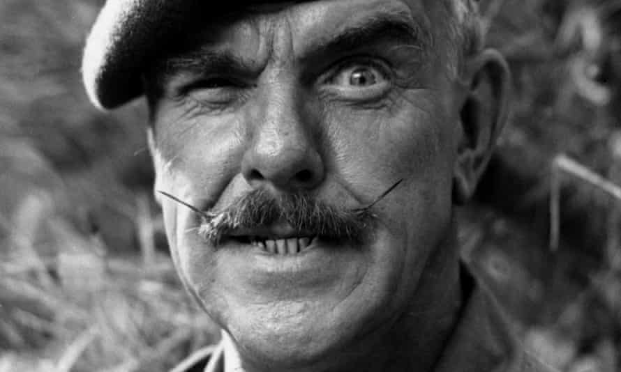 Windsor Davies in It Ain't Half Hot Mum, 1977.