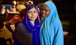 Malala Yousafzai and Amina