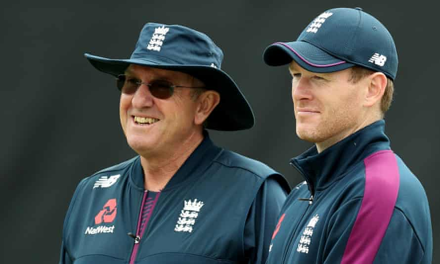 Trevor Bayliss (left) and Eoin Morgan have masterminded a transformation of England's fortunes in white-ball cricket.