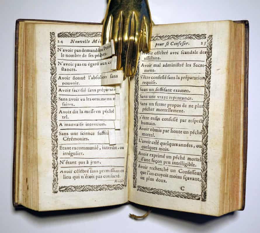 Christophe Leuterbreuver's La Confession Coupée ... ou la méthode facile pour se preparer aux confessions.
