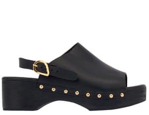Classic Clog, £280, ancient-greek-sandals.com
