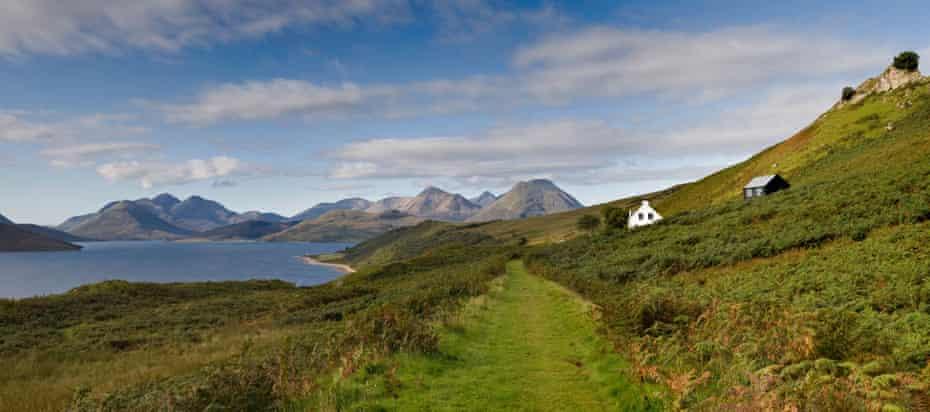 The isle of Raasay, Inner Hebrides