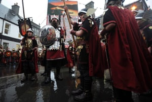 Vikings on the streets of Lerwick