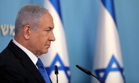 Israel's prime minister, Benjamin Netanyahu, last week