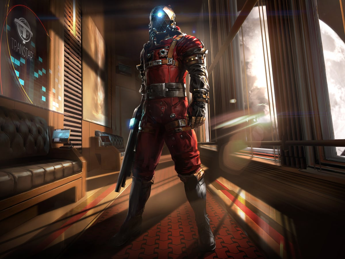Building Prey How Artists Shape Video Game Worlds Games The Guardian