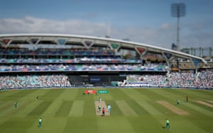 The Oval was in excellent voice and at capacity on the opening day of the World Cup.