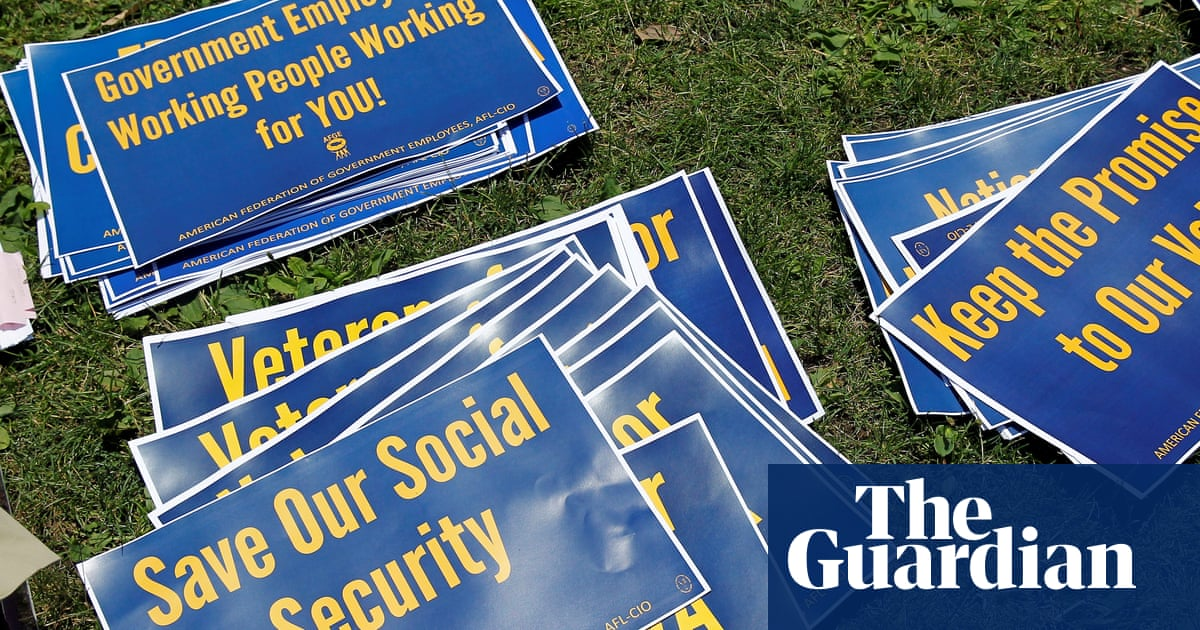 Social security workers call new Trump administration