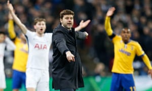 'Juve are specialists, because they have the habit to win, the habit to put pressure on the referee,' said Mauricio Pochettino.