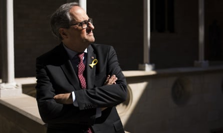 Quim Torra, the president of the Catalonia regional government