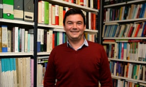 Thomas Piketty in his office