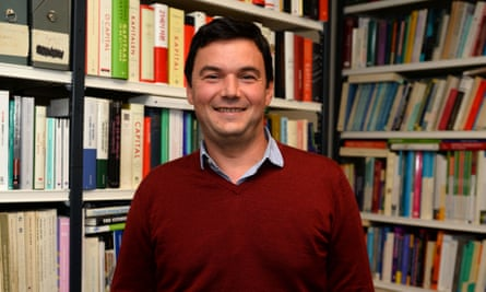 The French economist Thomas Piketty.