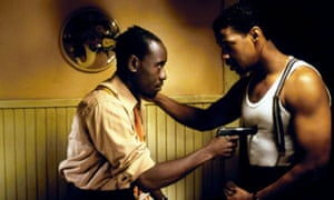 Don Cheadle and Denzel Washington in Devil In a Blue Dress.