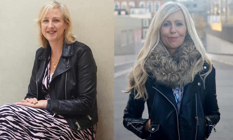 Novelist Sif Sigmarsdóttir, right, says of Cadwalladr, left: 'We need more like her.'