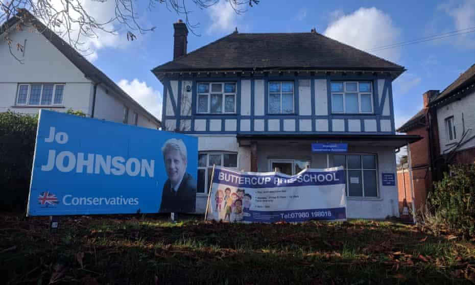 Jo Johnson's banner
