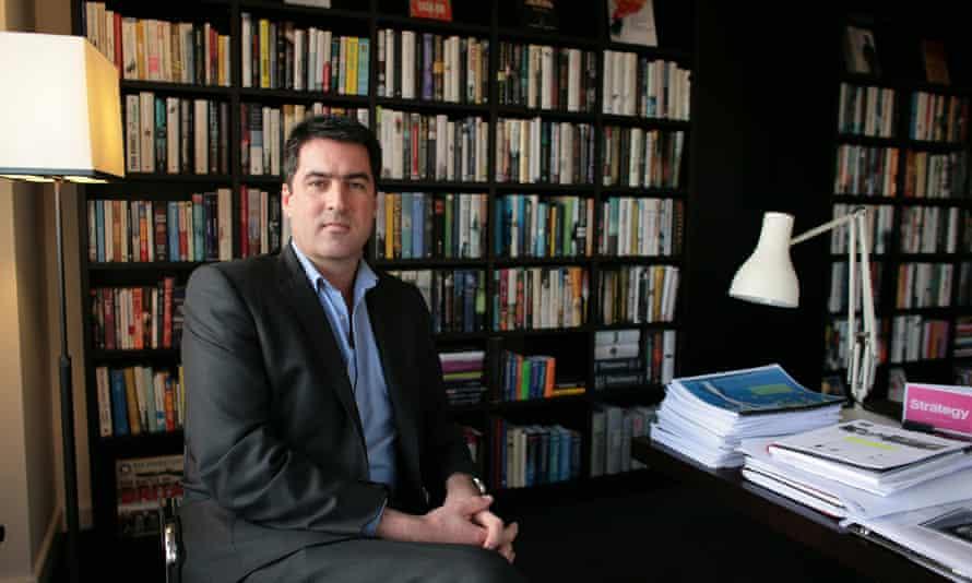 Charlie Redmayne, CEO of Harper Collins.