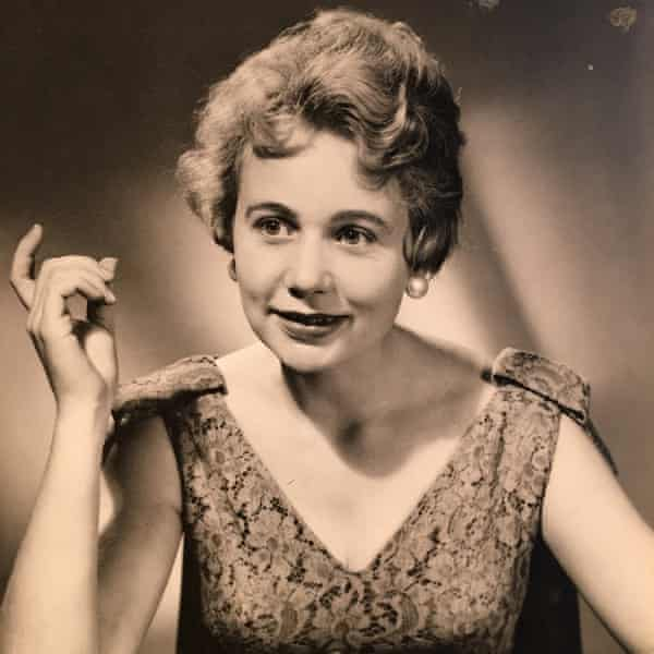 Anne Jones in 1956 appearing on the panel for the BBC's quiz show What's My Line?