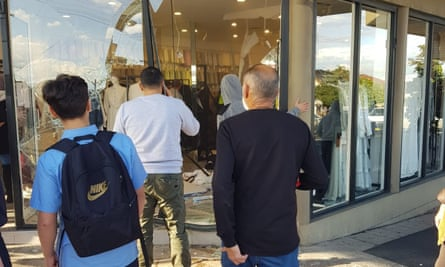 A 51-year-old Greenacre man faces court charged with multiple offences after crashing into a hijab shop in Greenacre on Thursday.