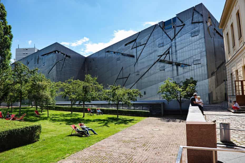 Daniel Libeskind's Jewish Museum in Berlin's Kreuzberg district.