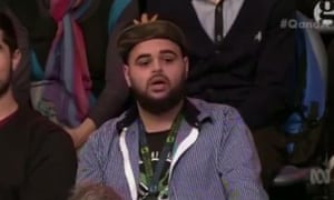 Zaky Mallah on ABC TV's Q&A program, 22 June 2015