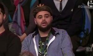 Zaky Mallah on ABC TV's Q&A program, 22 June 2015
