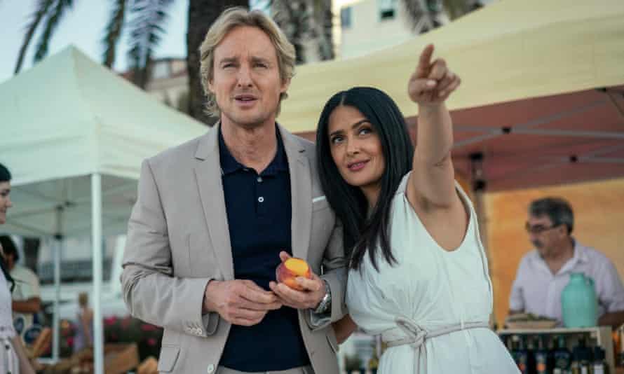 Salma Hayek and Owen Wilson in Bliss