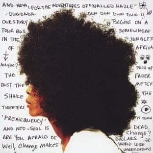 Erykah Badu on the cover Worldwide Underground.