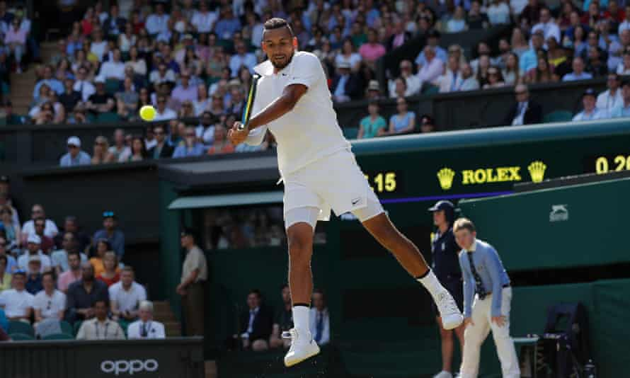 The odds on Nick Kyrgios winning seven best-of-five matches in the same fortnight dwindle with every tantrum – and it is impossible to know how much it hurts him because he covers the wounds in Olympic-level smart-arsery.