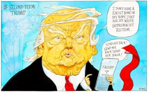 Donald Trump on FaceApp – cartoon | Opinion | The Guardian