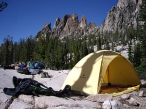 The camp at Feather Lakes