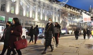 Shoppers on Regent Street in London