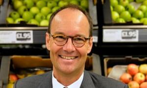 Mike Coupe, Sainsbury's chief executive.